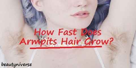 how fast armpit hair grow