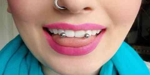 doubel horizontal vertical frenulum snake eyes venom tongue piercing types