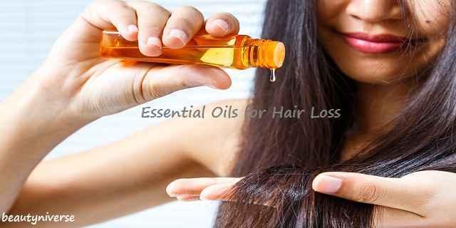 Essential Oils for Hair Loss Treatment