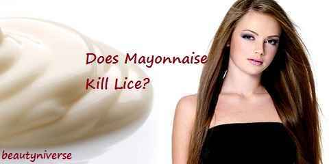 Does Mayonnaise Kill Lice