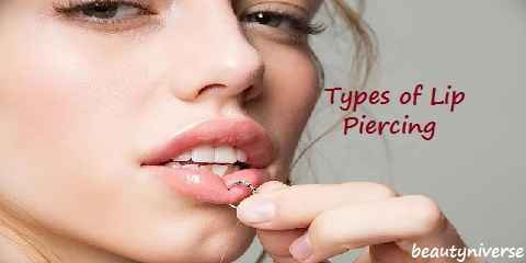 Types of Lip Piercing